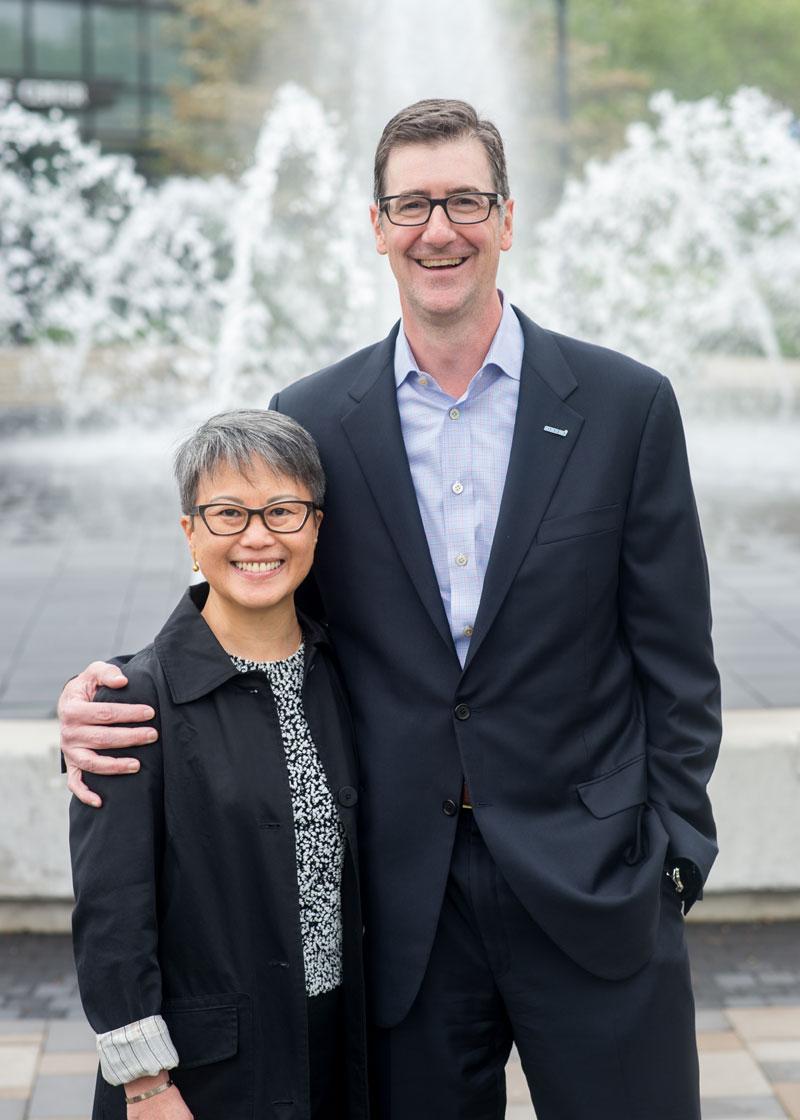 Todd Osburn and Caroline Howe