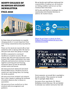 AFIRM Fall 2020 Newsletter