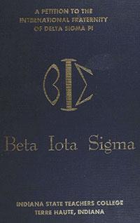Beta Iota Sigma petition, May 1959