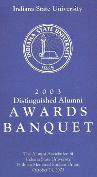 DAA 2003 program cover
