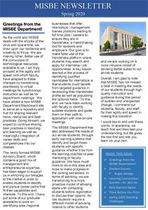 MISBE Newsletter Spring 2020