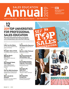 Sales Education Annual 2019