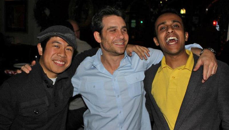 Miguel de la Rosa, Bryan Bruce, and Ishaan Vadhera
