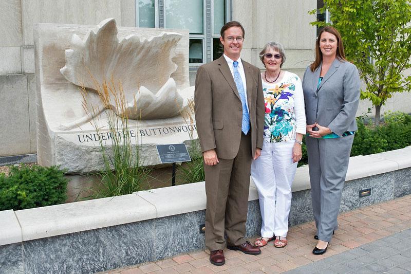 Brien Smith, Sherry Hockemeyer, and Catherine Saunders