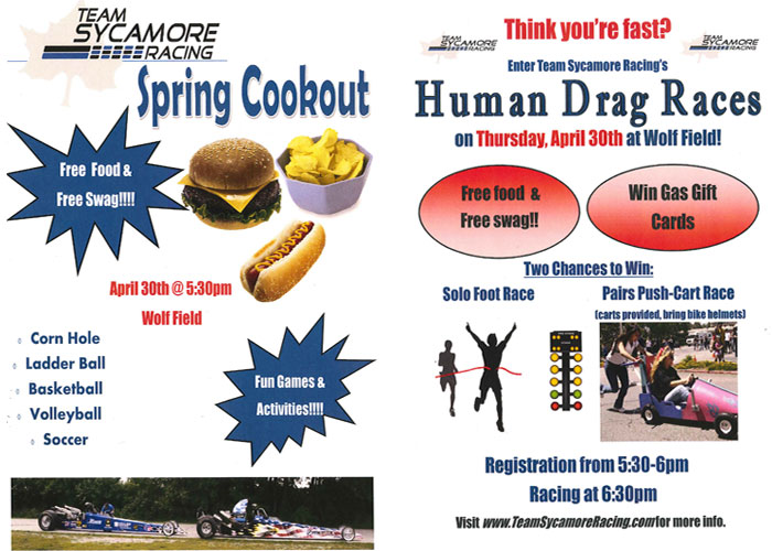Team Sycamore Racing Spring Fling