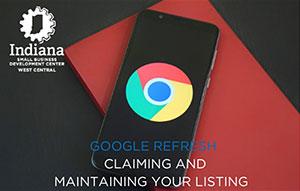 WCISBDC: Google Refresh