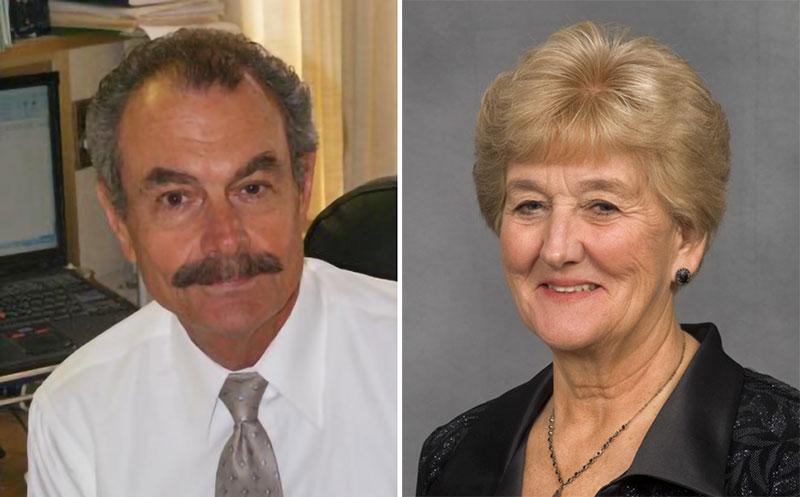 Bill Wilhelm and Barbara Beadle
