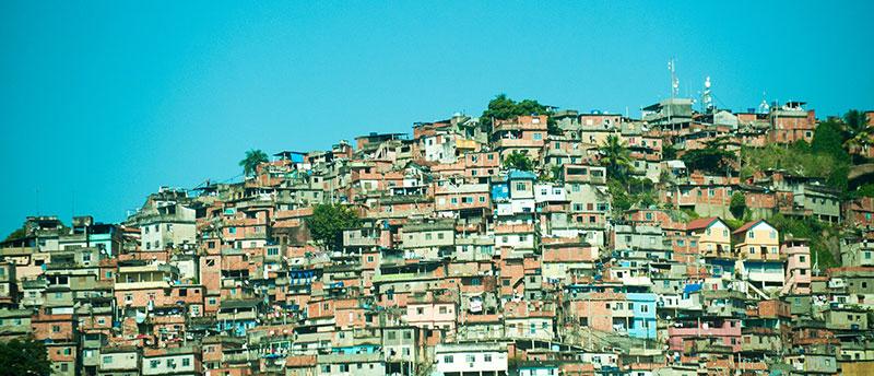 Favelas in Brazil, 2013