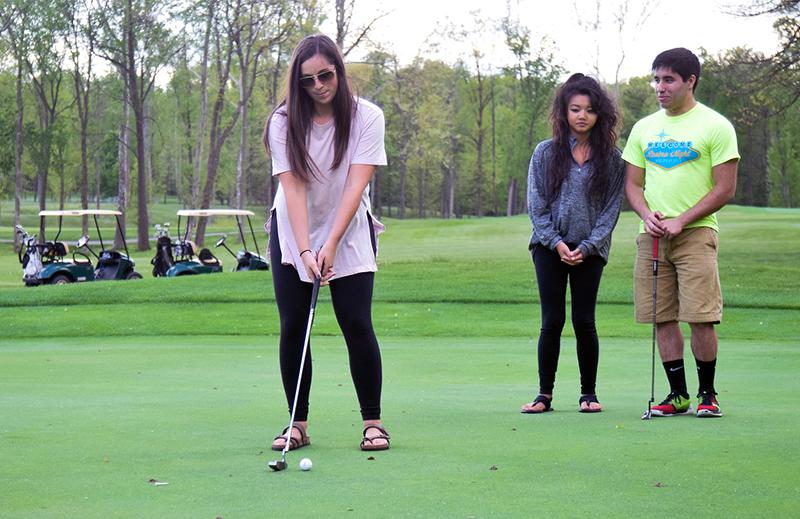 NFI 2016 Golf Practice