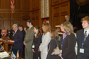 NFI Scholars at Statehouse, 2006