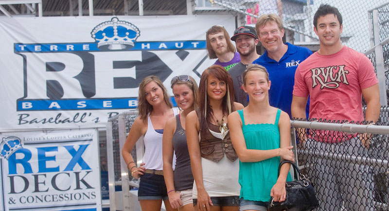 Students participating in the 2011 Terre Haute Rex attendance data analysis project