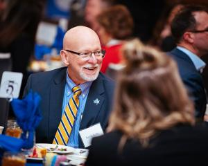 Kevin Kelly at the Networks Corporate Mentor Luncheon, February 2019