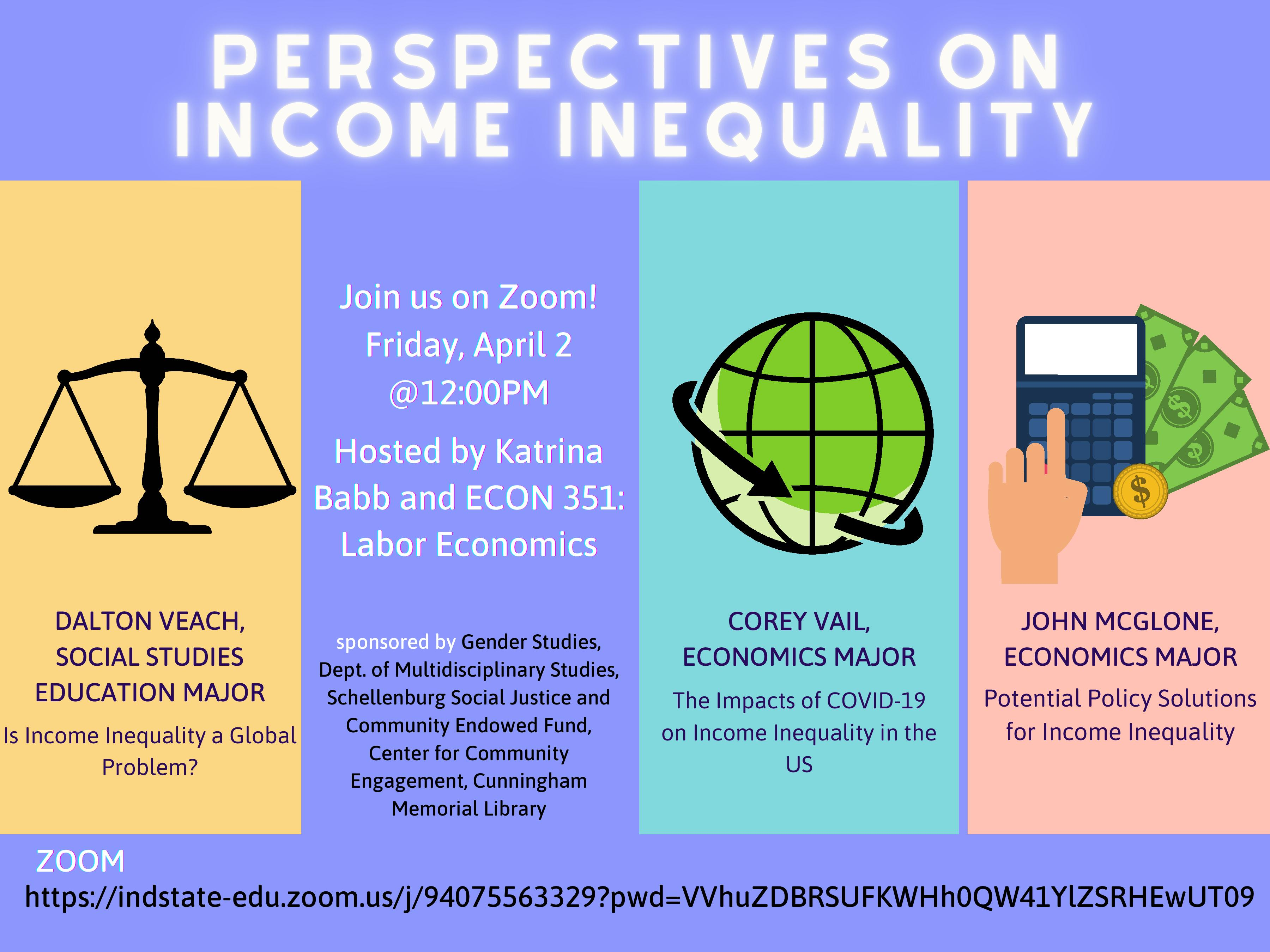 Perspectives on Income Inequality