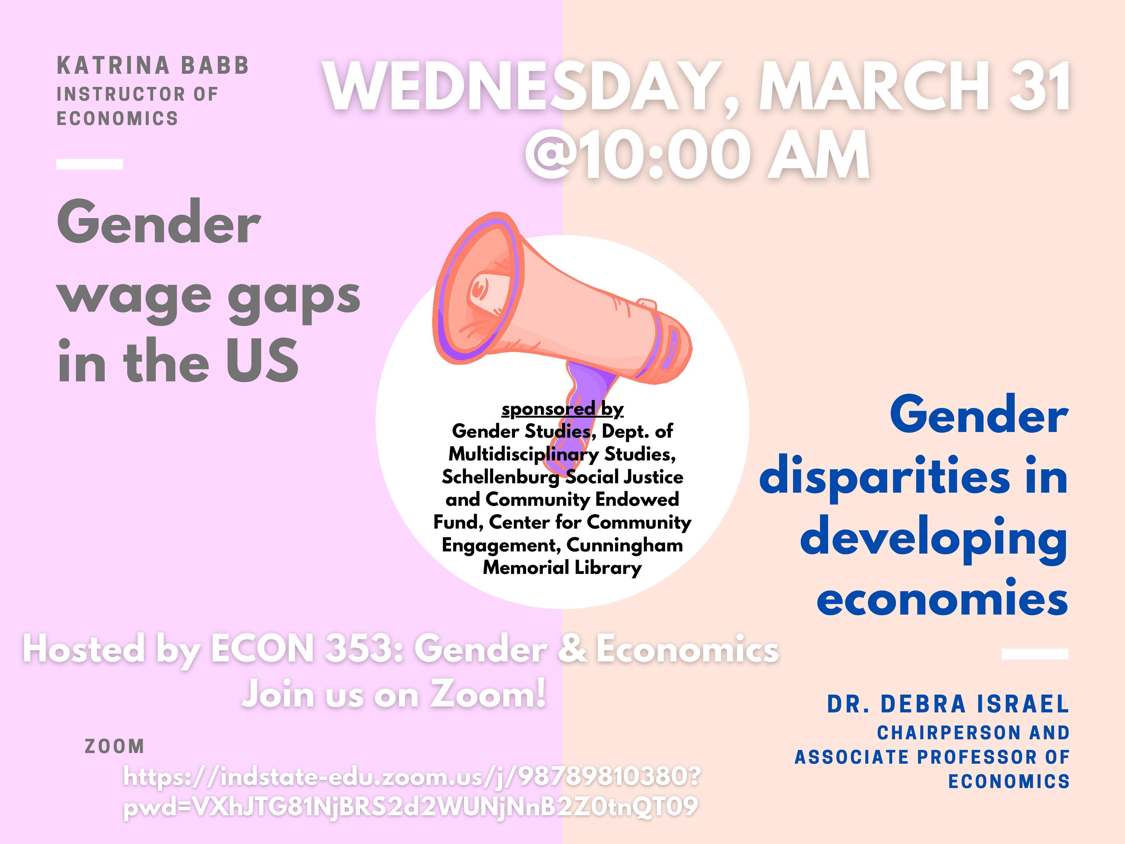 Gender Wage Gaps