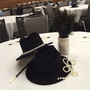 award table