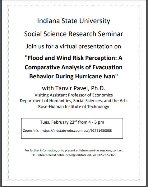 Social Science Research Seminar