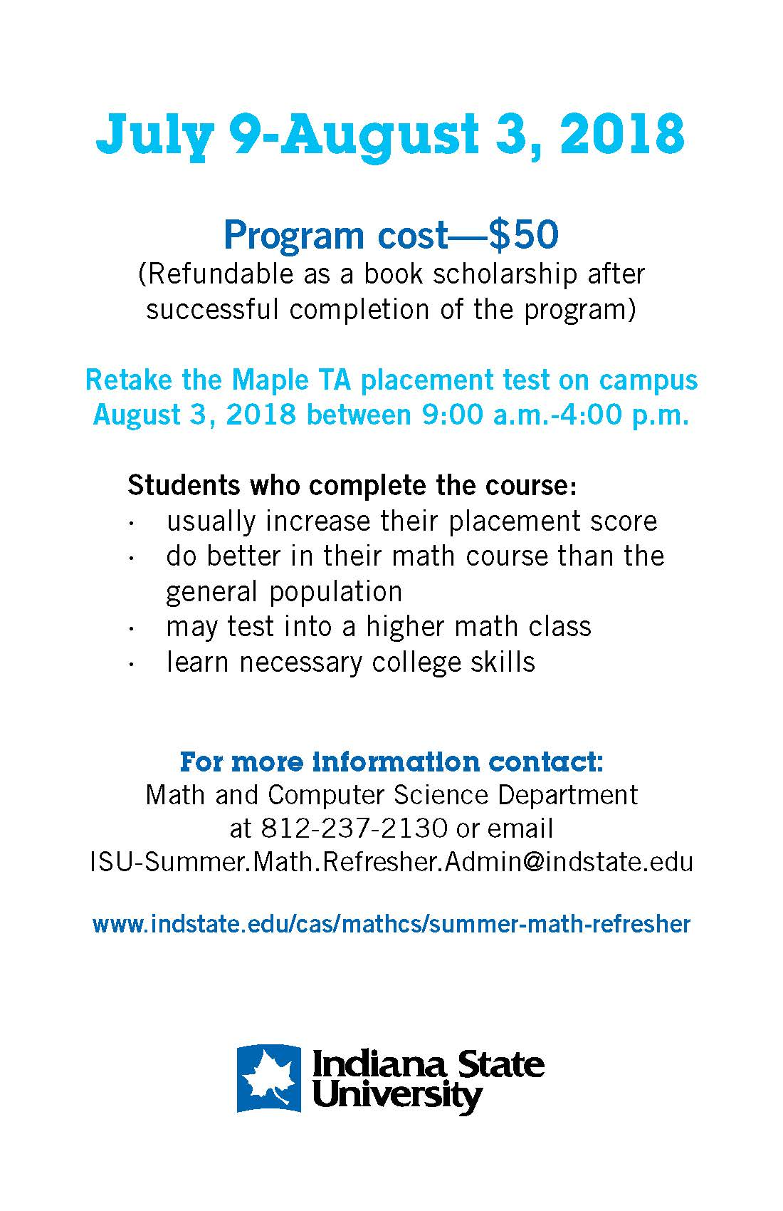 Summer Math Refresher 2
