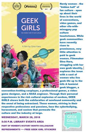 Geek Girls Film Poster