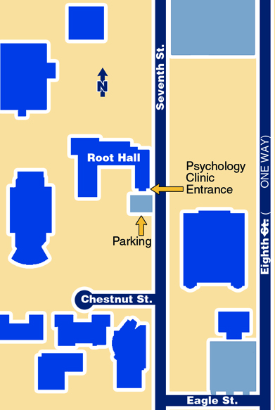 Psychology Clinic Map