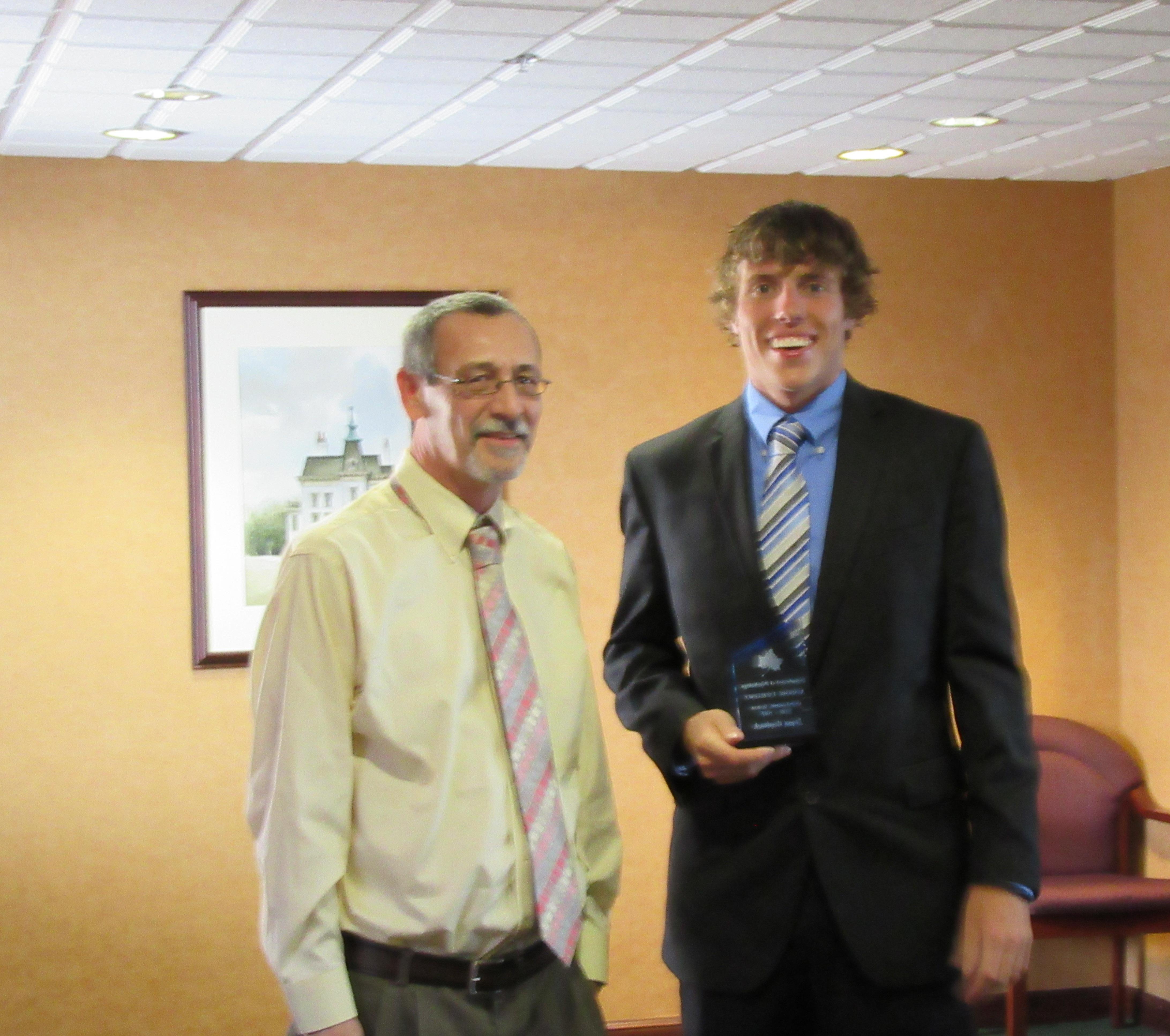 Dr. Sheets and Logan Hambrock