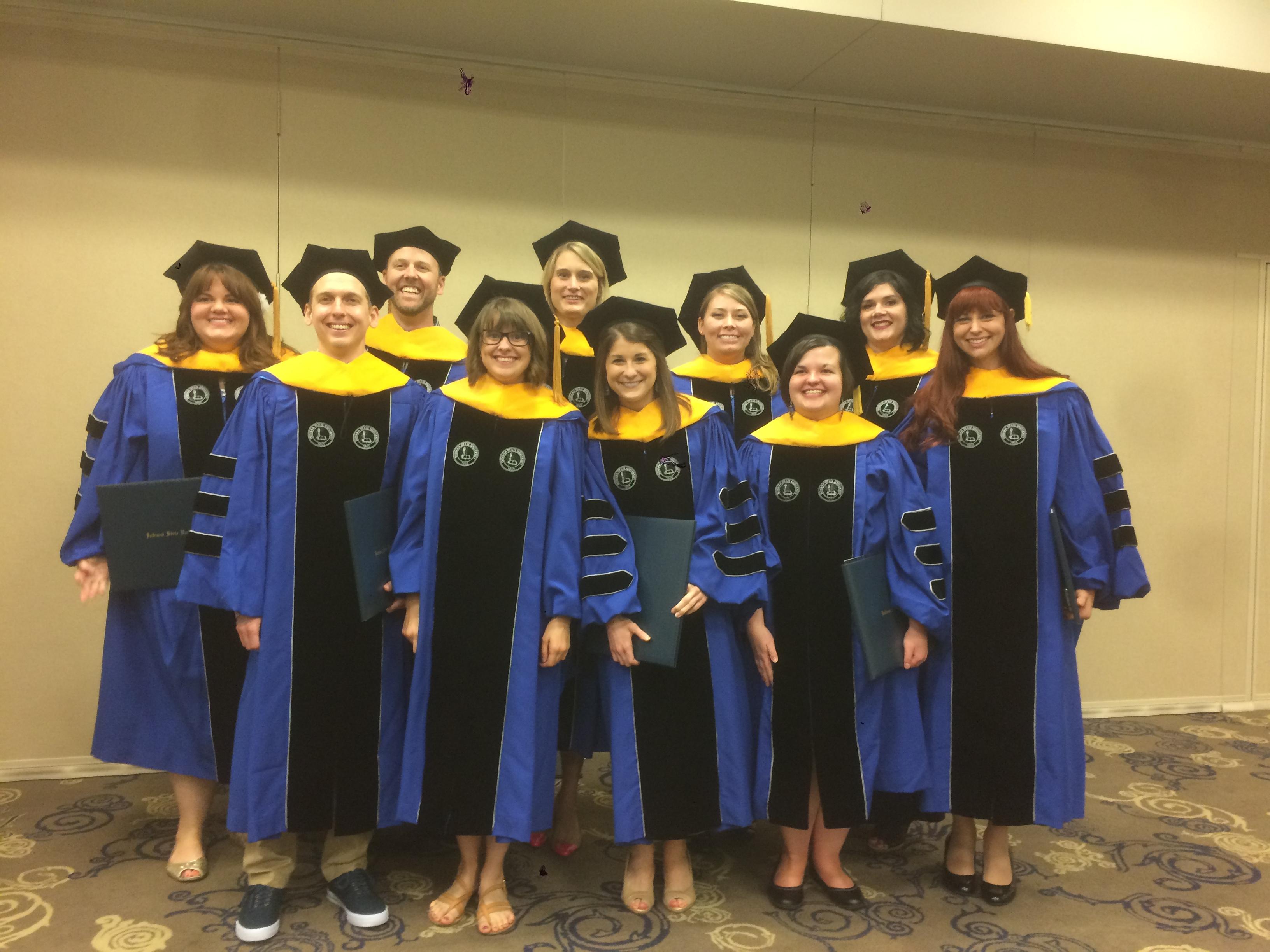 Doctoral Graduation May 2016