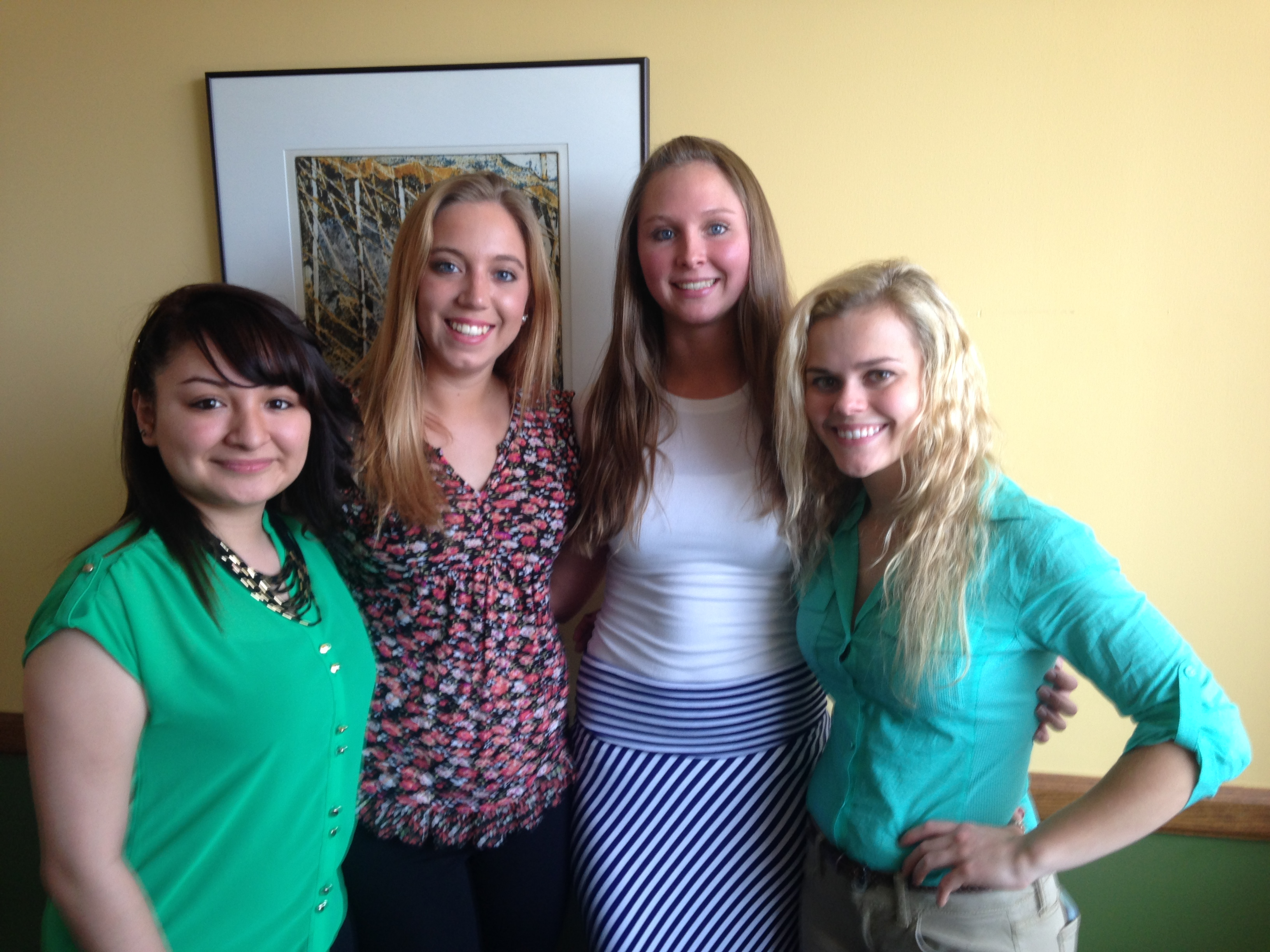 Psi Chi Officers Spring 2015