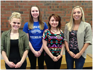 Spring 2014 Psi Chi Officers