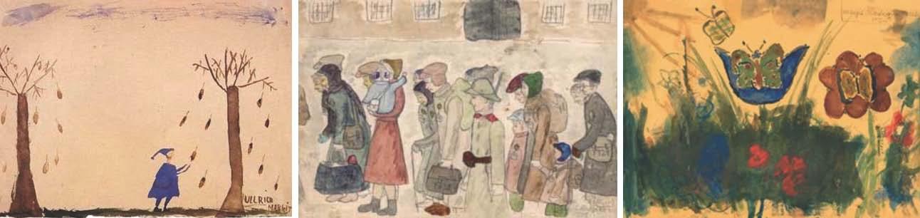 Art created by children at Terezin