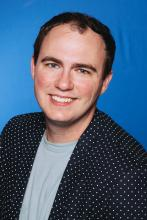 Headshot of Dr. Sean Bartz, Assistant Professor of Physics at Indiana State