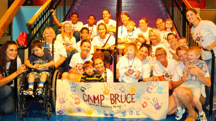 ISU students with Camp Bruce Campers