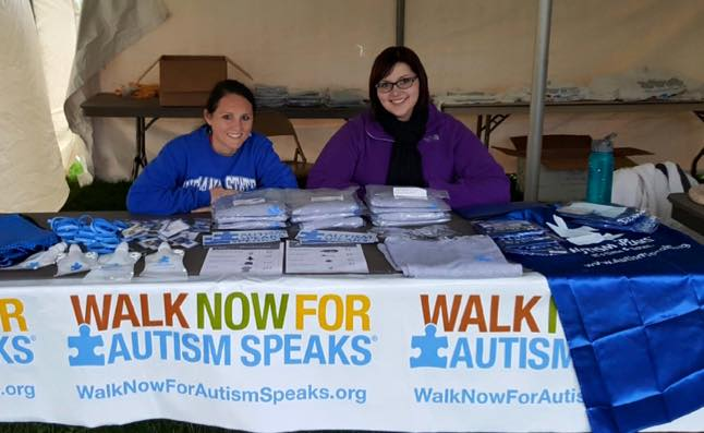 CSI members at the fall Autism Walk 2015