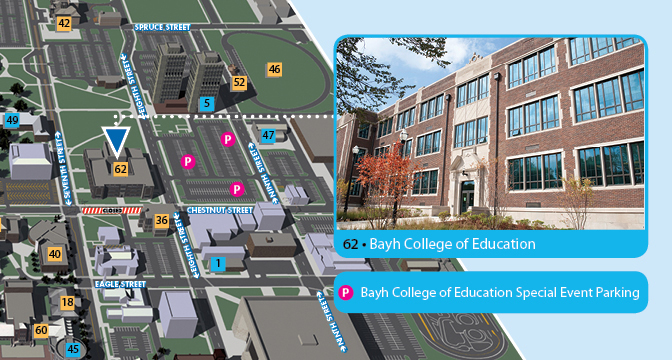 parking bayh college of education