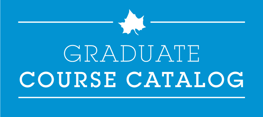 Graduate Course Catalog