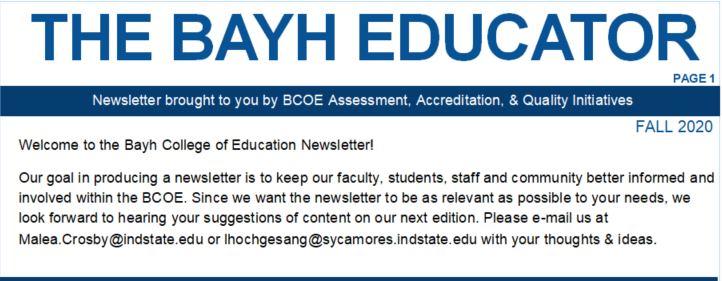 BCOE Newsletter