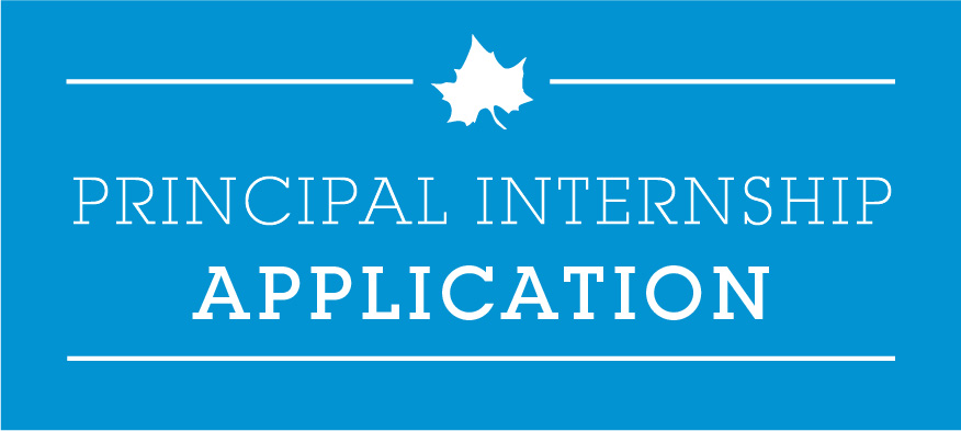 Principal Internship Application