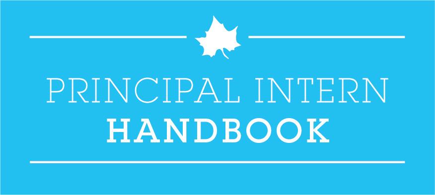 Principal Intern Handbook