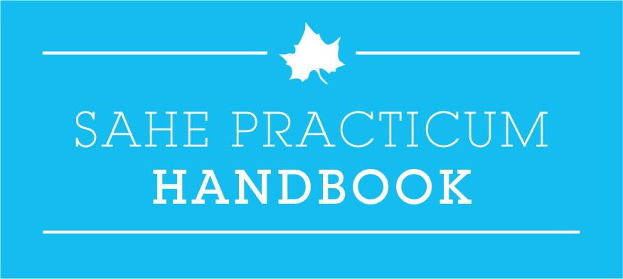 SAHE Practicum Handbook