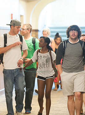 Students Hallway