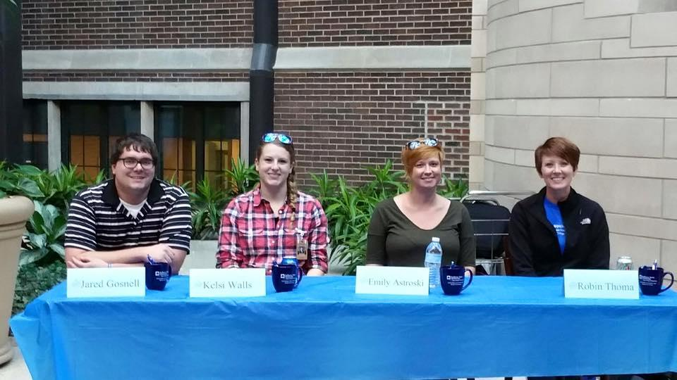 Public School panelists discuss real world application with our CHILL students.  October 5, 2016