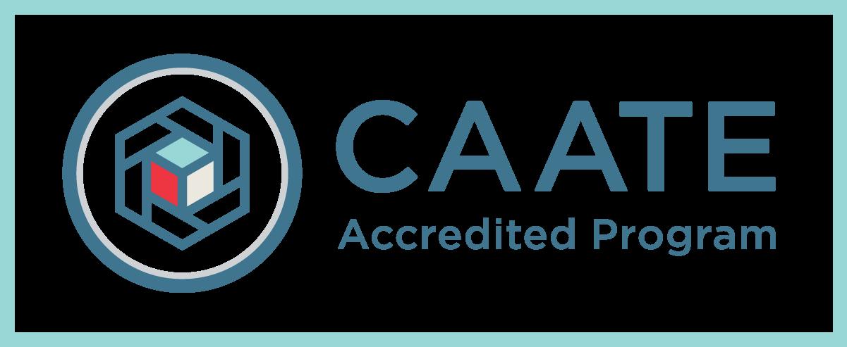 Commission on Accreditation of Athletic Training Education logo