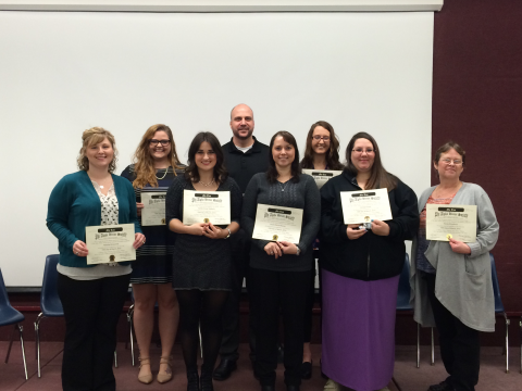 Phi Alpha 2016 Induction