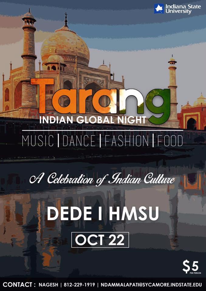 Indian Global Night 2016 - Tarang on October 22nd, Dede 1