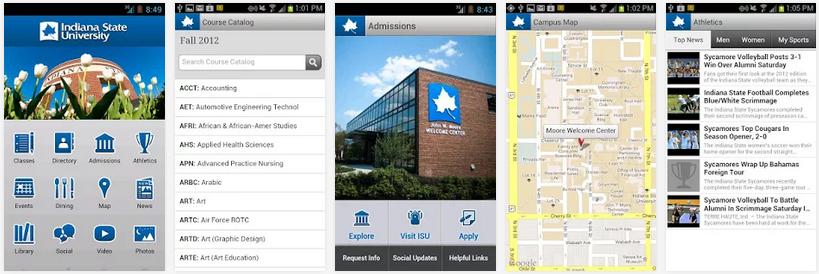ISU Mobile Features