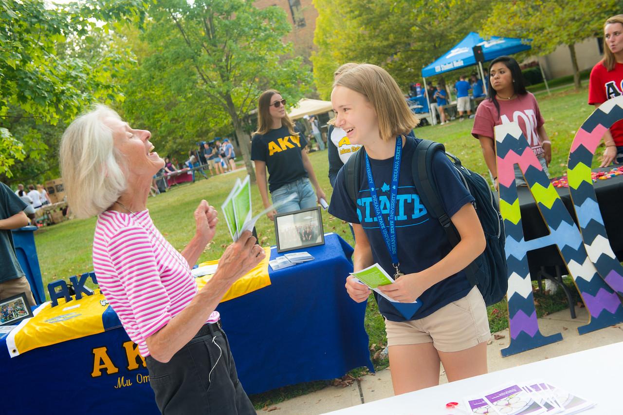 August 30, 2017 Student Involvement Fair