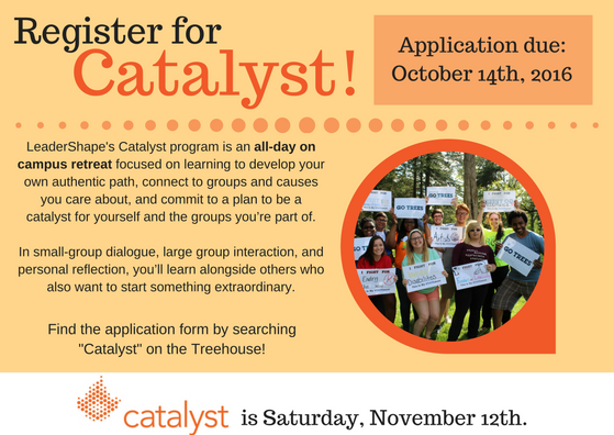 Catalyst Registration