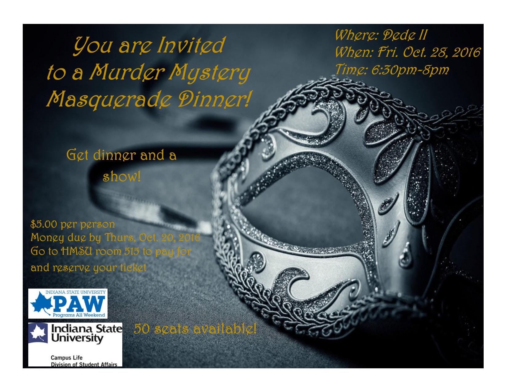 Murder Mystery Flyer