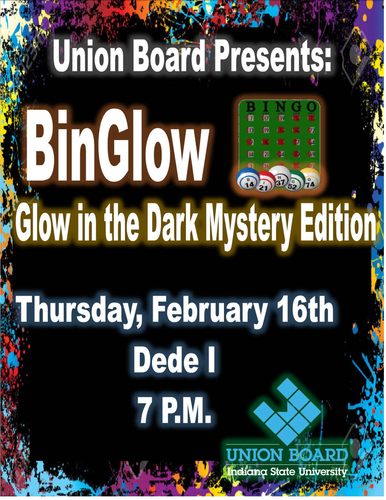 BinGlow Every Third Thursday