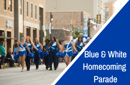 Blue White HC Parade