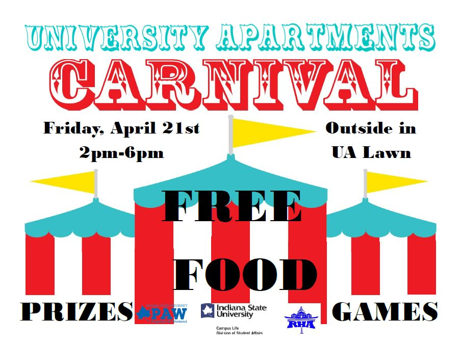 PAW and University Apartments hosting Carnival