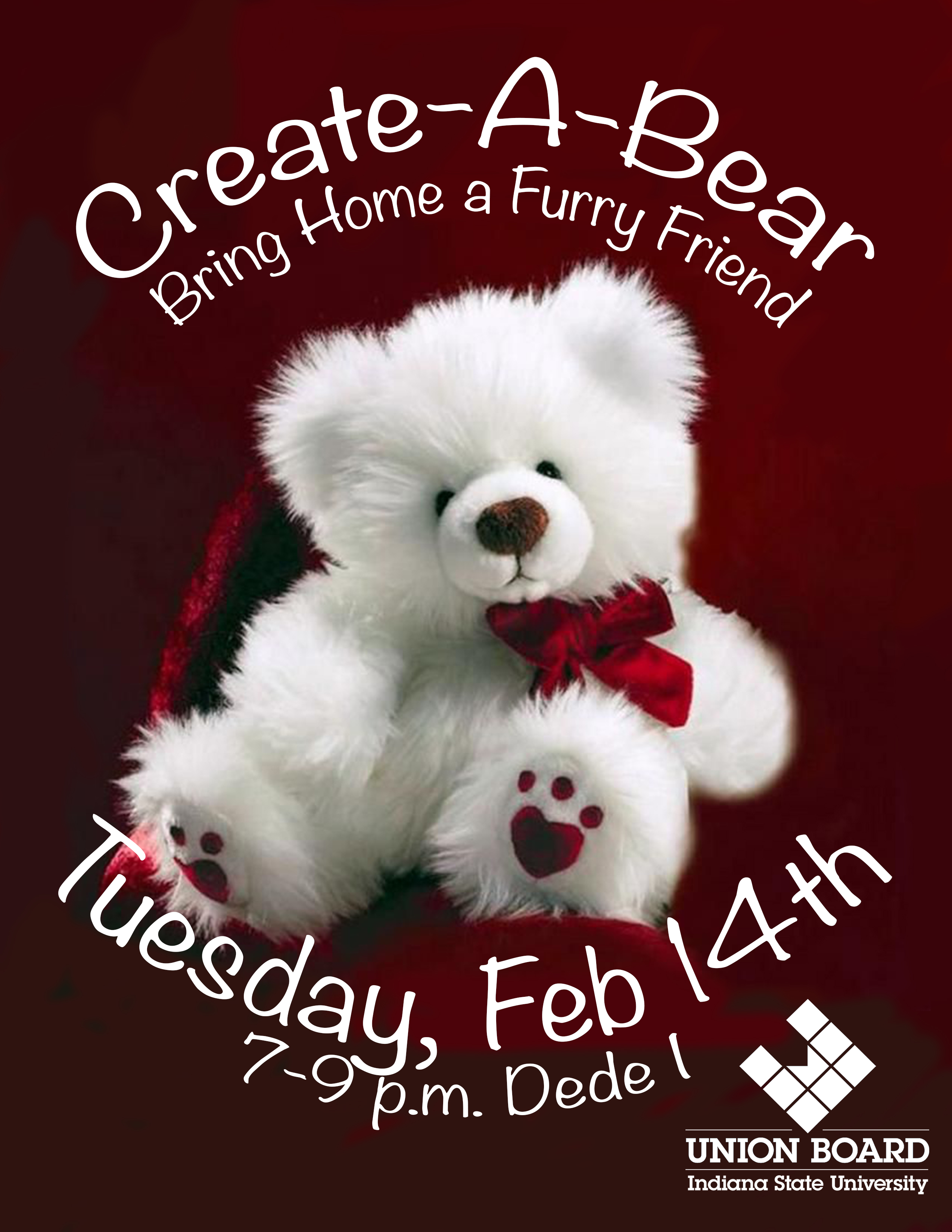 Create A Bear sponsored by Union Board
